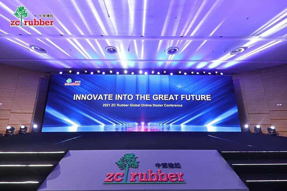 ZC-RUBBER(中策ゴム)全世界カスタマー会議